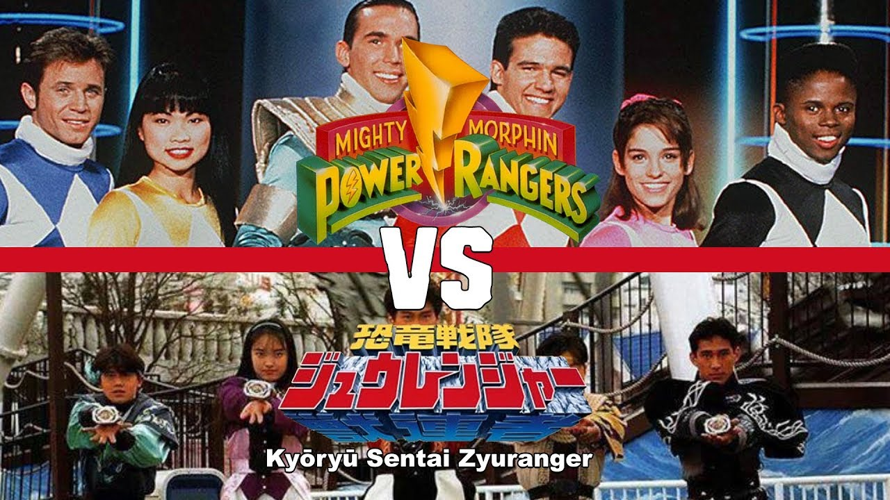 MIGHTY MORPHIN POWER RANGERS VS KYORYU SENTAI ZYURANGER - WAKE UP! #5