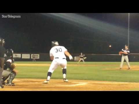 Colleyville Heritage shortstop Bobby Witt Jr. swings away