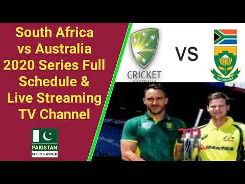 Australia Vs South Africa 2020 Live Streaming Tv Channel List | SA Vs AUS 2020 Series Full Schedule
