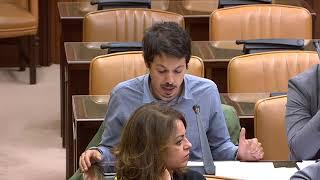 Segundo González en la comisión de Hacienda y Función Pública el 30 de mayo