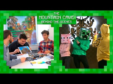 Mountain Cave set reveal - LEGO Minecraft -