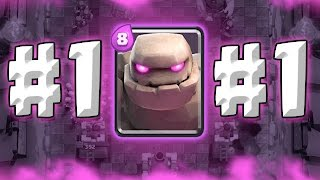 GOLEM #1 TROOP ::  Clash Royale  ::  HIGH LEVEL GOLEM GAMEPLAY