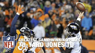 Joe Flacco's 70-Yard TD Pass to Jacoby Jones | 2012 NFL Divisional Round Highlights