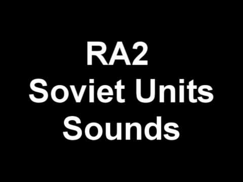 RA2 Soviet Units Voice Clips