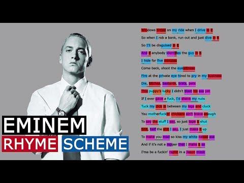 Eminem on Criminal | Rhyme Scheme