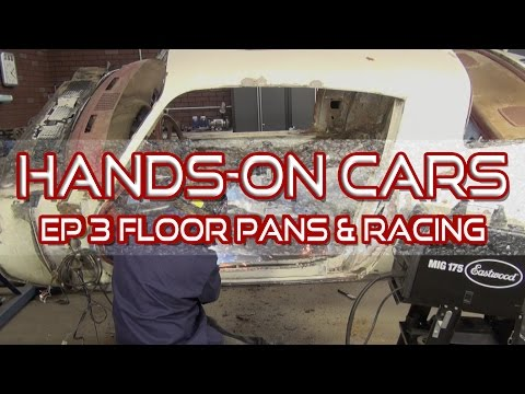 How To Install Floor Pans on Hands-On Cars 3 + Racing!  Eastwood and Kevin Tetz