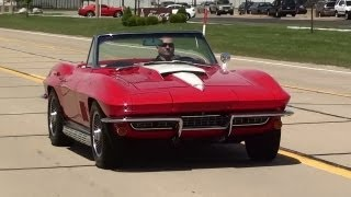 Test Driving 1967 Corvette 427 Big-Block 3x2 Carbs 435 Horsepower
