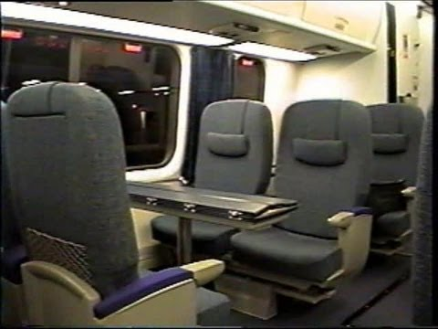First Class Amtrak Acela Ride Bos To Pvd 2001 Youtube