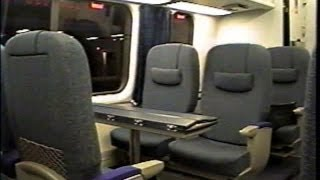 First Class Amtrak Acela Ride, BOS to PVD 2001