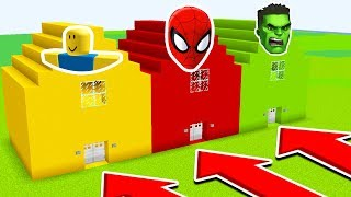 - DO NOT CHOOSE THE WRONG HOUSE Roblox,Spiderman,HULK Ps3 Xbox360 PS4 XboxOne PE MCPE