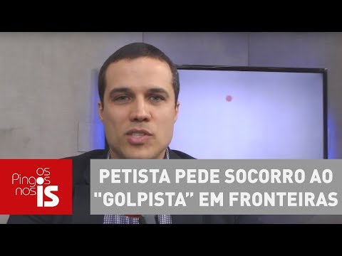 Felipe Moura Brasil: Petista Pede Socorro Ao