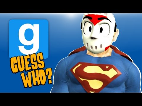 Gmod Ep. 50 GUESS WHO? - JUSTICE LEAGUE VS THE JOKER! (Garry's Mod Funny Moments)