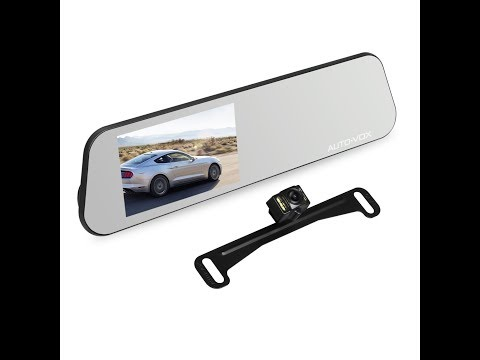 Auto-Vox M6 Touch Screen Dash Cam