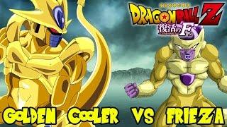 Dragon Ball Z: Cooler vs Frieza! Can Cooler Achieve The Golden Fukkatsu No F Form?