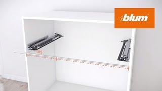 MOVENTO side stabilisation: assembly | Blum