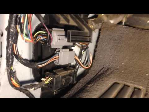2002 Ford F150 2DIN Radio install with reverse wire location  F Under Dash Wiring Diagram on