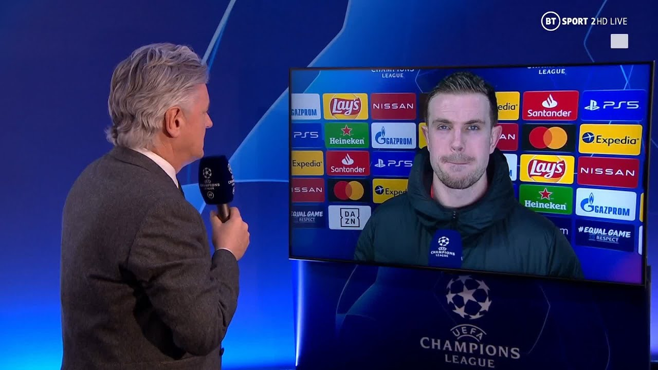 """""""Only half the job is done!"""" Jordan Henderson refuses to get carried away despite vital Le"""