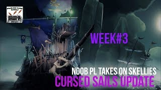 LIVE! Sea of Thieves. Week 3 of Cursed Sails!!!!!Let's go!!!!!!!!