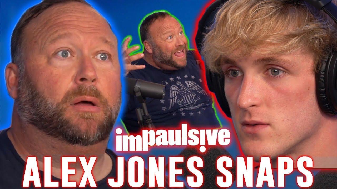 Logan Paul Alex Jones: Alex Jones is back on YouTube despite