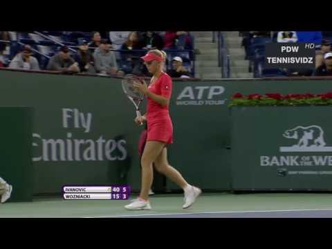 Ivanovic vs Wozniacki - 2012