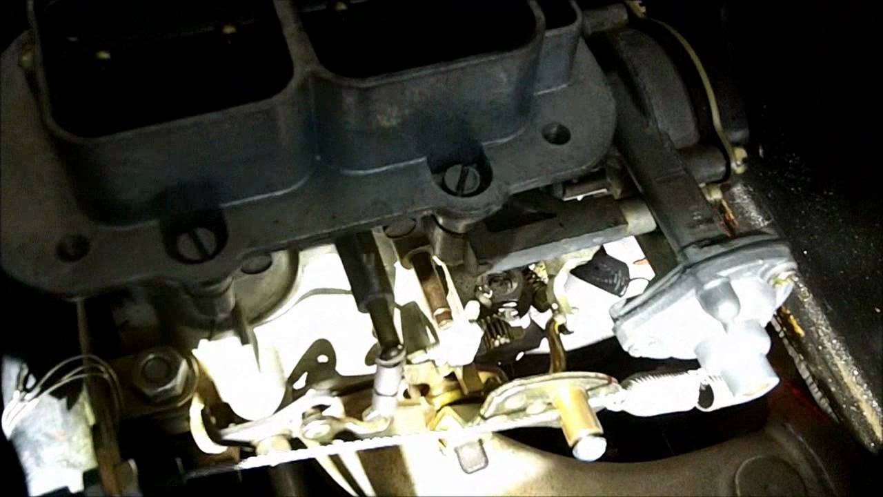 Weber carburetor for MBG idle problem fixed BUT