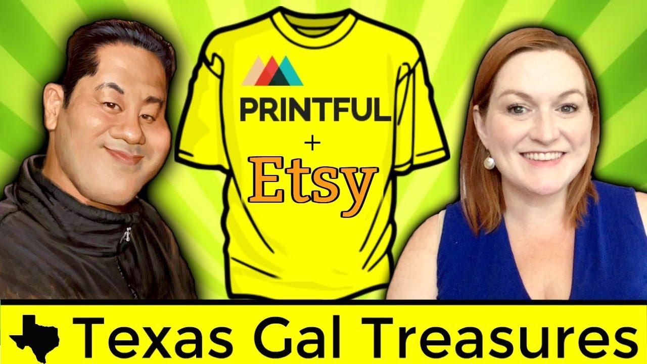Integration Printful Demand For 2017 Shirts Etsy And Qamp; Print On A 34AjL5R
