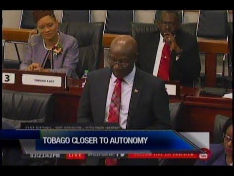 Tobago Closer To Self Governance