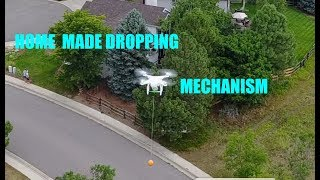 How to make a low cost DIY homemade dropping system for Phantom drones that works
