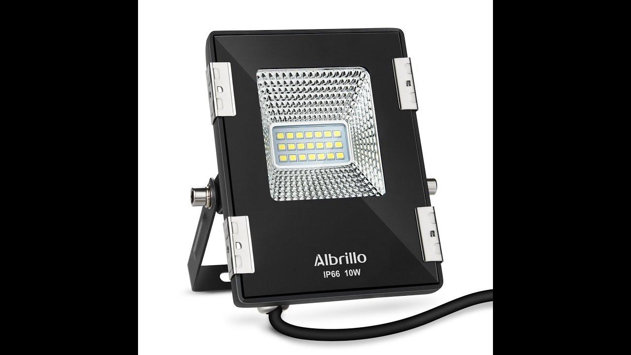 albrillo 10w led flood lights