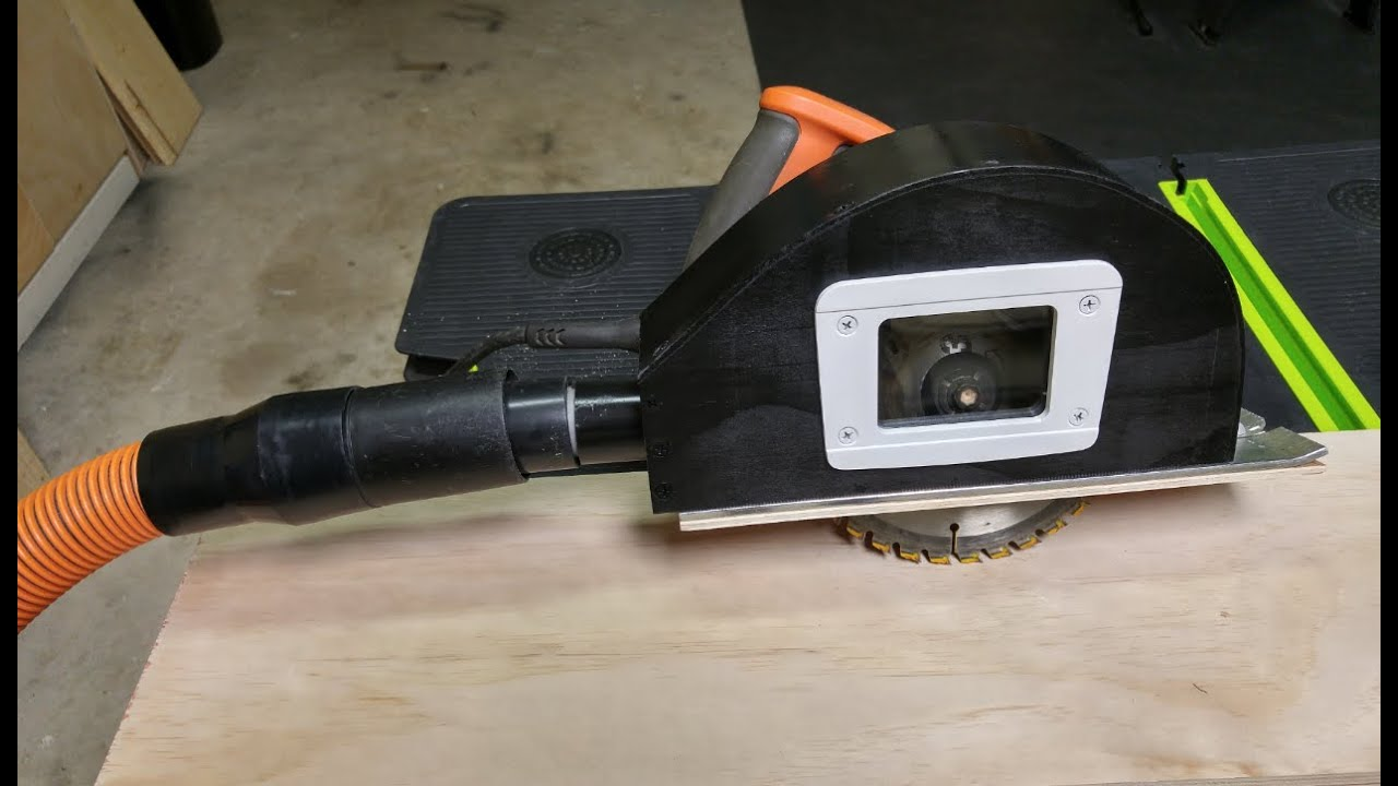 Circular Saw Dust Collection Add On Doovi