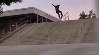 INSTABLAST! - INSANE NoseGrind 21 Stair Rail!! Hang Ten Nollie Hardflip! Hippy Jump SLAM!!!