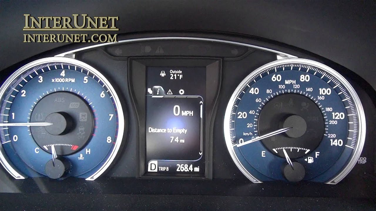 2016 Toyota Camry Fuel Economy   Not What The Book Says