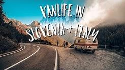 Vanlife in Slowenien & Italien  / Socatal / Teil 1/2