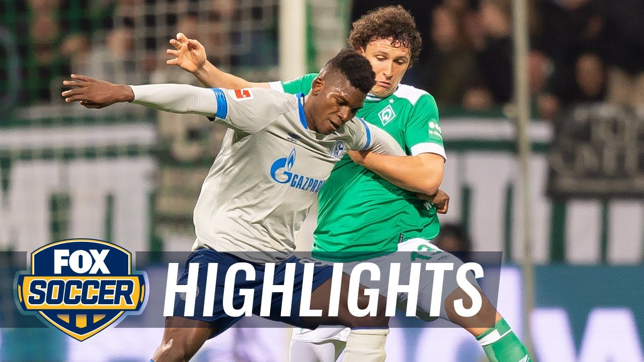 Werder Schalke Highlights
