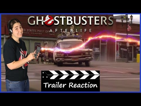 Ghostbusters: Afterlife (2020) - Official Trailer Reaction