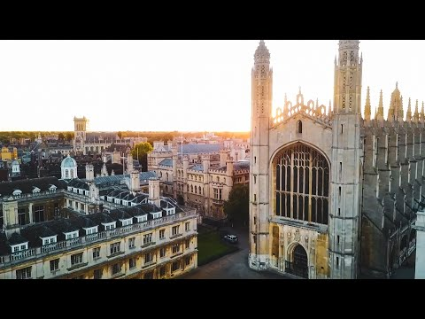 Exploring the City of Cambridge - by Drone