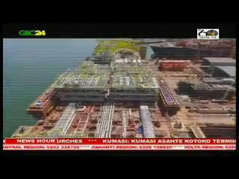 FPSO John Agyekum Kufuor docks at Cape Three Points