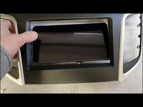 Переходная рамка под 2DIN магнитолу для Lenovo Tab 3 Plus