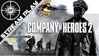 Greyshot117 Gets Ghosted! - Company of Heroes 2 Multiplayer Livestream