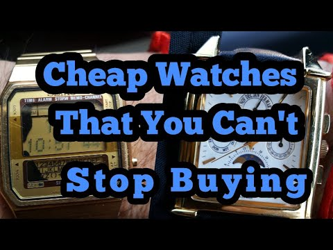 Cheap Watches You Keep Buying And You Can't STOP!!!