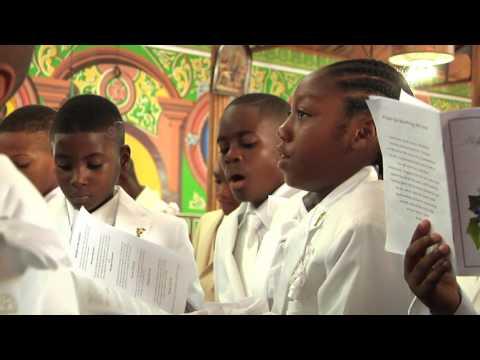 St Lucia 1st Communion -  D'shaun