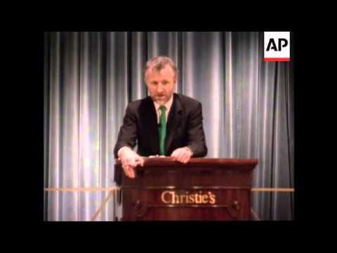 USA:  LEONARDO DA VINCI MANUSCRIPT FETCHES RECORD AUCTION PRICE