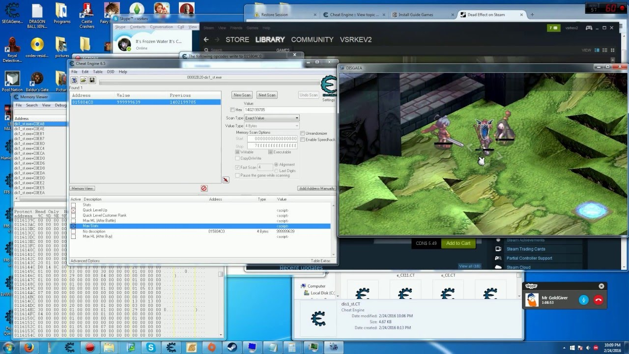 TeamXPG] Disgaea PC *Cheat Engine* | XPG Gaming Community