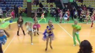 Фестиваль спортивного танца, клуб ' Визави', Лиза Довгопол, 5 лет