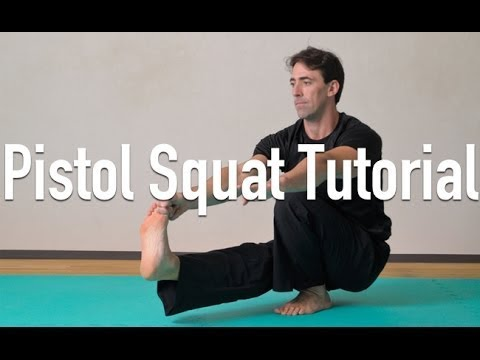 How to do a Pistol Squat - Full tutorial - How to do a Pistol Squat - Full tutorial