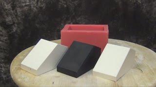 getlinkyoutube.com-PlatSil Gel-25 Block Mold With Hardener Added