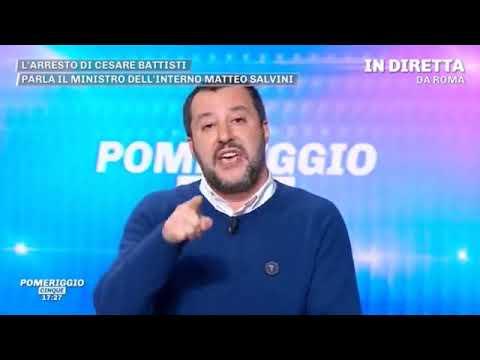 MATTEO SALVINI A POMERIGGIO 5 (15.01.2019)