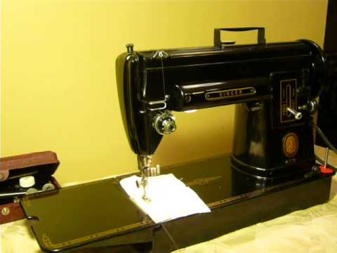 NIFTYTHRIFTYGIRL Vintage Singer 40 40A Black Long Bed Sewing Magnificent Singer Sewing Machine Model 301 Value