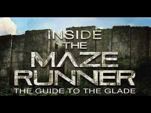 Maze Runner Movie Book Inside The Maze Runner The Guide To The