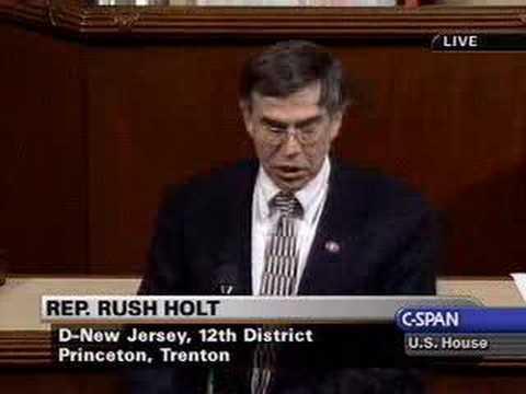 Rep. Holt - FISA Amendments Act
